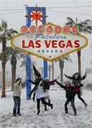 Las Vegas snow 12/17/2008 - most since 1979